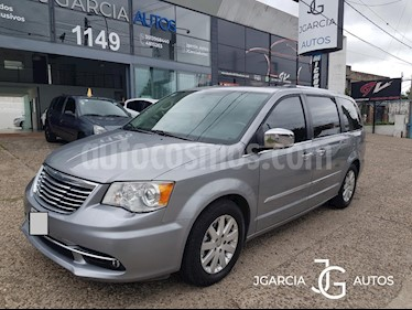 Chrysler Town and Country Limited usado (2013) color Azul Celeste precio $987.654.321