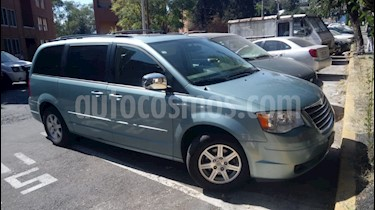 Foto venta Auto usado Chrysler Town and Country Limited 3.8L Aut (2008) color Azul precio $105,000