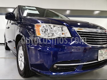 Chrysler Town and Country Touring Piel 3.6L usado (2012) color Azul precio $195,000