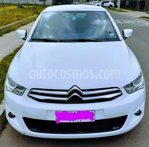 Citroen C-Elysee Seduction 1.6L HDi  usado (2014) color Blanco precio $4.900.000