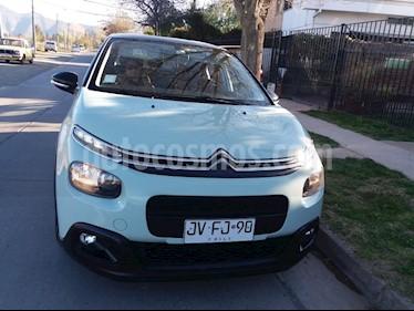 Foto venta Auto Usado Citroen C3 1.6L BlueHDi 100 Feel (2017) color Verde precio $9.000.000