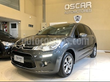 Citroen C3 Tendance Pack Secure  usado (2016) color Gris Grafito precio $649.000
