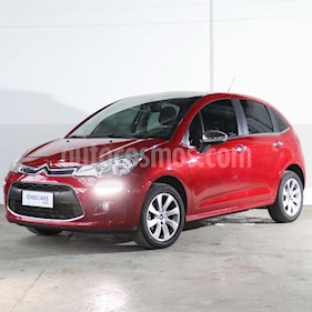 Citroen C3 Exclusive Pack My Way  usado (2014) color Rojo Rubi precio $470.000