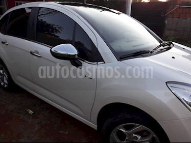Citroen C3 Exclusive usado (2015) color Blanco precio $450.000