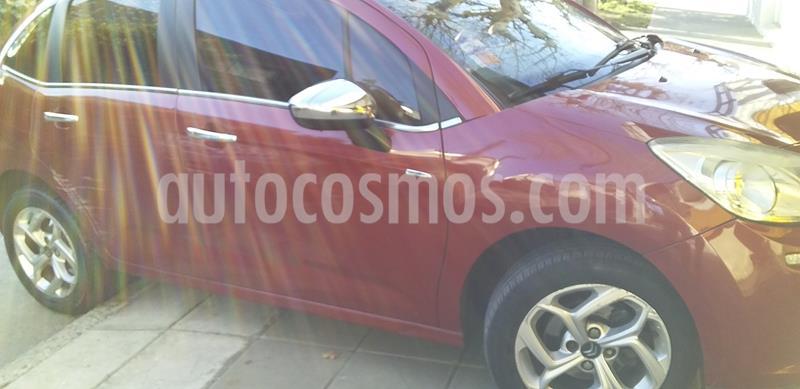 Citroen C3 1.6i Exclusive usado (2014) color Rojo Lucifer precio $495.000