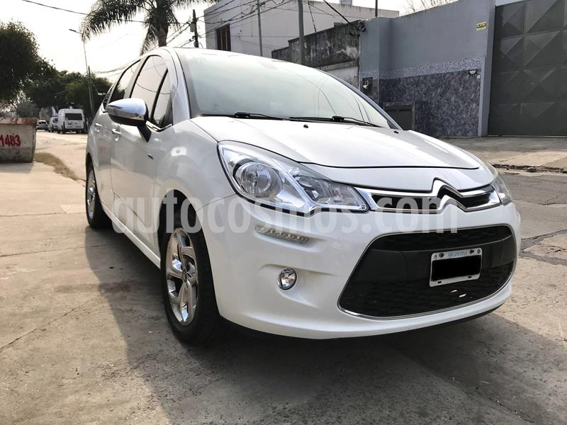 Citroen C3 1.6i Exclusive usado (2013) color Blanco precio $555.000