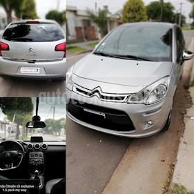 Citroen C3 Exclusive Pack My Way  usado (2016) color Gris Grafito precio $380.000