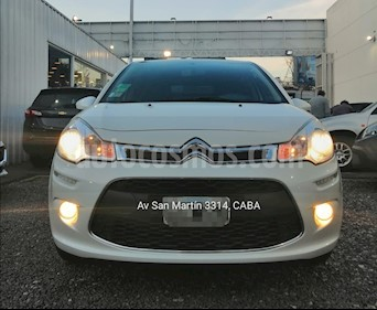 Foto Citroen C3 Tendance Pack Secure  usado (2015) color Blanco Nacarado precio $415.000