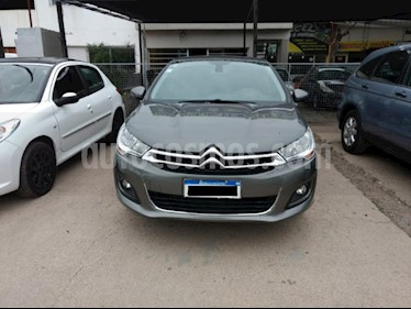 Citroen C4 Lounge 1.6 Exclusive Aut Pack Select usado (2016) color Gris Oscuro precio $550.000