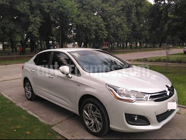 Citroen C4 Lounge 1.6 Exclusive Aut usado (2014) color Blanco precio $450.000