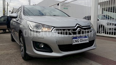 Citroen C4 Lounge 1.6 Feel THP Aut usado (2014) color Gris