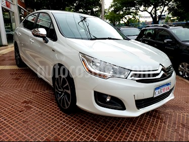 Citroen C4 Lounge 1.6 Feel THP usado (2016) color Blanco precio $739.990
