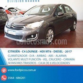 Foto venta Auto usado Citroen C4 Lounge 1.6 Feel (2017) color Gris Oscuro