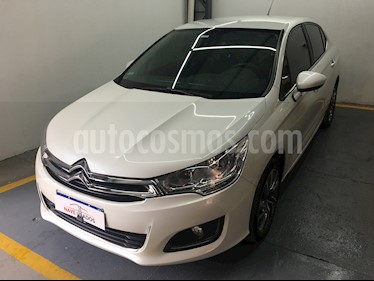 Citroen C4 Lounge 1.6 Feel usado (2017) color Blanco precio $678.500