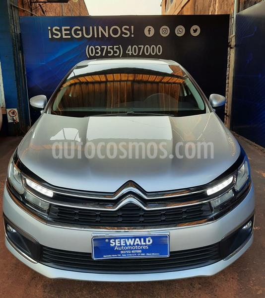 Citroen C4 Lounge 1.6 HDI 6MT Feel Pack (115cv) (L16) usado (2018) color Gris Plata  precio $1.930.000