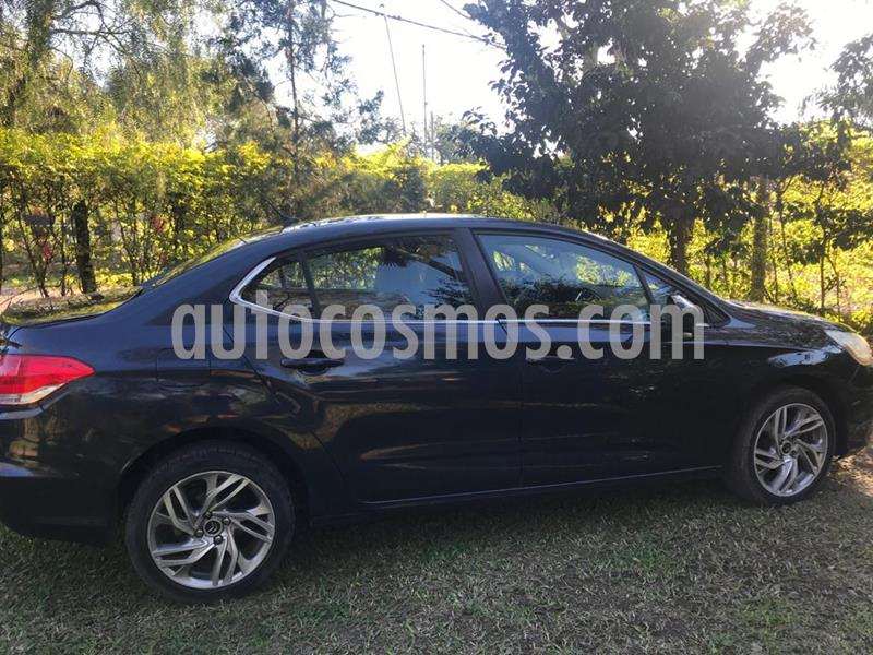 Citroen C4 Lounge 1.6 Tendance Pack Aut usado (2014) color Azul Bourrasque precio $650.000