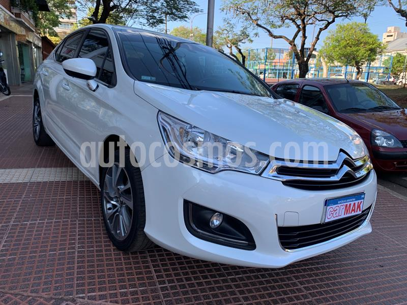 Citroen C4 Lounge 1.6 Exclusive Aut usado (2017) color Blanco precio $1.299.990
