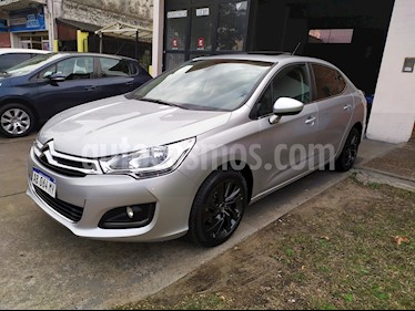 Citroen C4 Lounge 1.6 HDi Feel Pack usado (2017) color Gris Aluminium precio $1.280.000