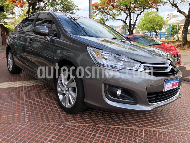 Citroen C4 Lounge 1.6 Feel Pack usado (2017) color Gris precio $1.597.000