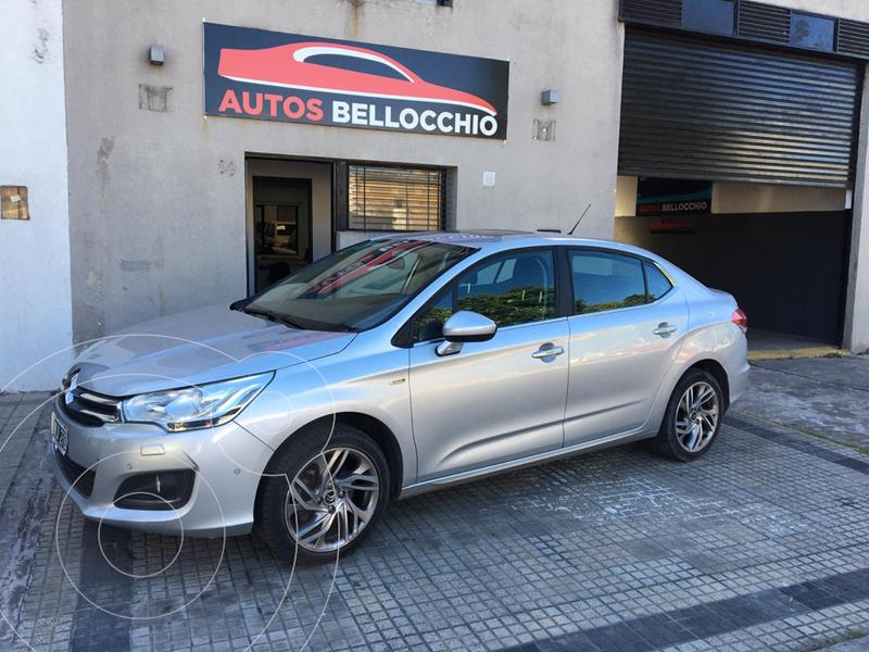 Citroen C4 Lounge 1.6 Exclusive Aut usado (2014) color Gris Aluminium precio $1.220.000