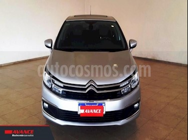 Citroen C4 Lounge 1.6 Feel Pack THP usado (2019) color Gris Claro precio $990.000