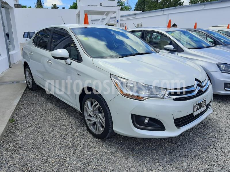 foto Citroën C4 Lounge Exclusive Aut usado (2014) color Blanco Banquise precio $1.250.000