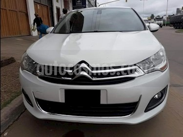 Citroen C4 Lounge 1.6 Exclusive Aut usado (2014) color Blanco precio $390.000