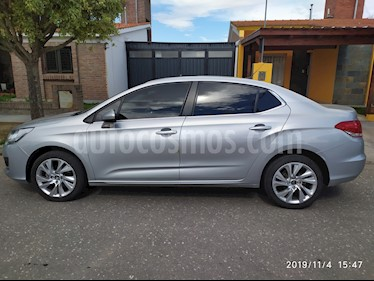 Citroen C4 Lounge 2.0 Feel Pack usado (2016) color Gris Aluminium precio $790.000