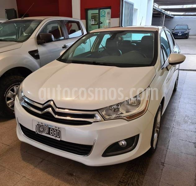 Citroen C4 Lounge 1.6 Exclusive Aut Pack Select usado (2015) color Blanco precio $820.000