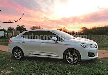 Citroen C4 Lounge 1.6 Exclusive Aut Pack Select usado (2014) color Blanco Nacarado precio $600.000