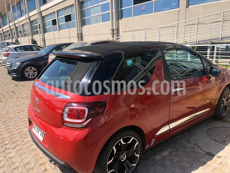 Citroen DS3 Sport Chic 1.6L  usado (2014) color Rojo Aden precio $7.500.000
