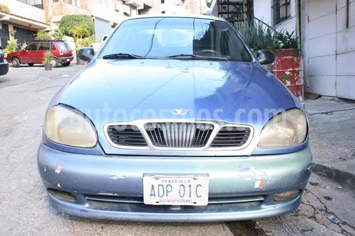 Daewoo Lanos SE Sinc. usado (2001) color Celeste precio u$s1.300