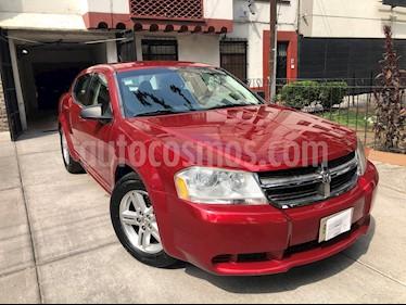Dodge Avenger SXT 2.4L Aut usado (2008) color Rojo precio $98,000