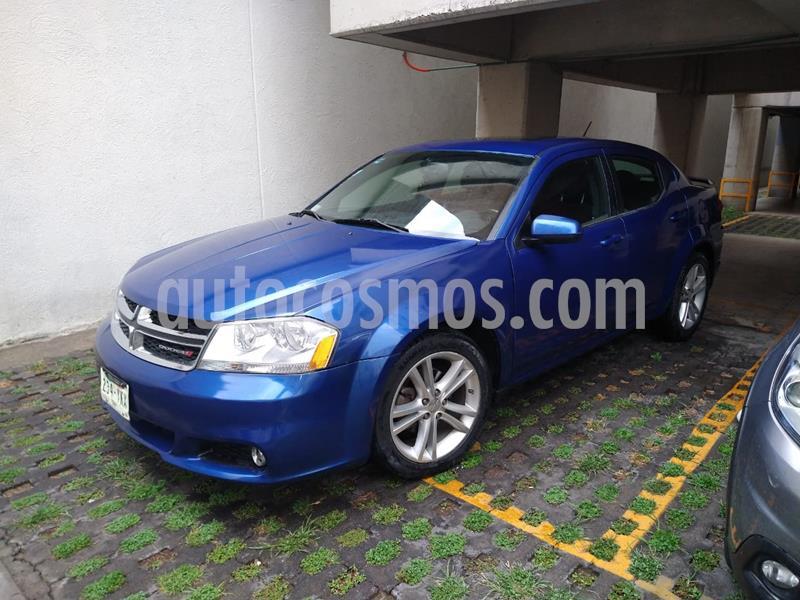 Dodge Avenger SXT 2.4L Aut Sport usado (2012) color Azul Relampago precio $110,700
