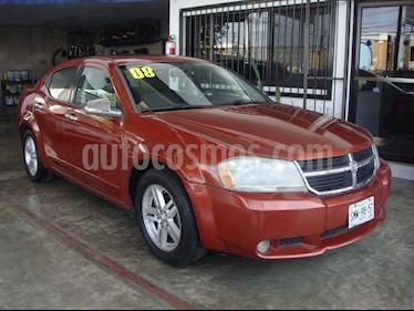 Dodge Avenger SXT 2.4L Aut Sport usado (2008) color Naranja precio $95,000