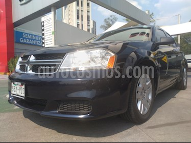 Foto venta Auto usado Dodge Avenger SE 2.4L Aut (2012) color Azul Mora precio $100,000