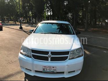 Foto venta Auto usado Dodge Avenger SE 2.4L Aut (2010) color Blanco precio $75,000