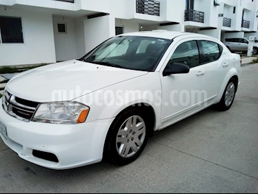 Foto venta Auto usado Dodge Avenger SE 2.4L Aut  (2013) color Blanco precio $97,000