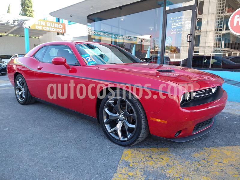 Dodge Challenger 3.6L Black Line ATX usado (2016) color Rojo precio $429,000