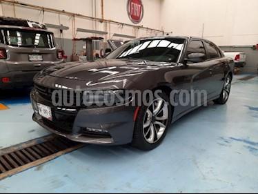 Dodge Charger 4P R/T V8 5.7L TA PIEL QC GPS RA-20 usado (2016) color Gris precio $395,000