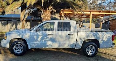 Dodge Dakota 3.7 Quad Cab Laramie 4X4  usado (2008) color Blanco precio $4.700.000