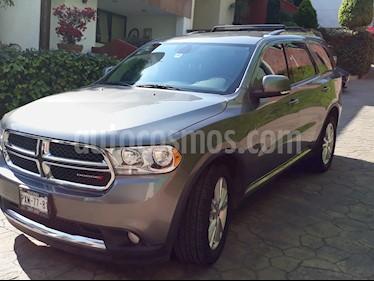 Foto venta Auto usado Dodge Durango 3.6L Crew Luxe 4x2 V6 (2012) color Gris Grafito precio $240,000
