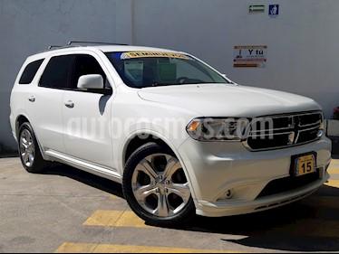 Foto venta Auto Seminuevo Dodge Durango 3.6L V6 Limited (2015) color Blanco Perla precio $439,500