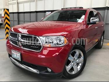 Foto venta Auto usado Dodge Durango 5p Citadel V8/5.7 Aut (2012) color Rojo precio $290,000