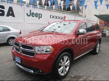 Foto venta Auto usado Dodge Durango 5p Crew Luxe V6/3.6 Aut (2012) color Rojo precio $290,000
