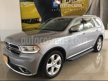 Foto venta Auto usado Dodge Durango 5p Limited V6/3.6 Aut (2015) color Plata precio $368,900