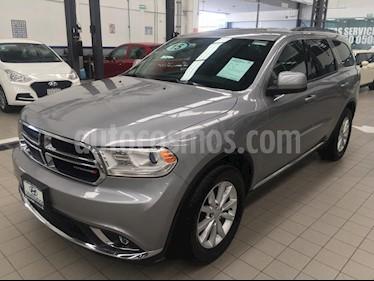 Foto venta Auto usado Dodge Durango 5p SXT Plus V6/3.6 Aut (2015) color Gris precio $339,000