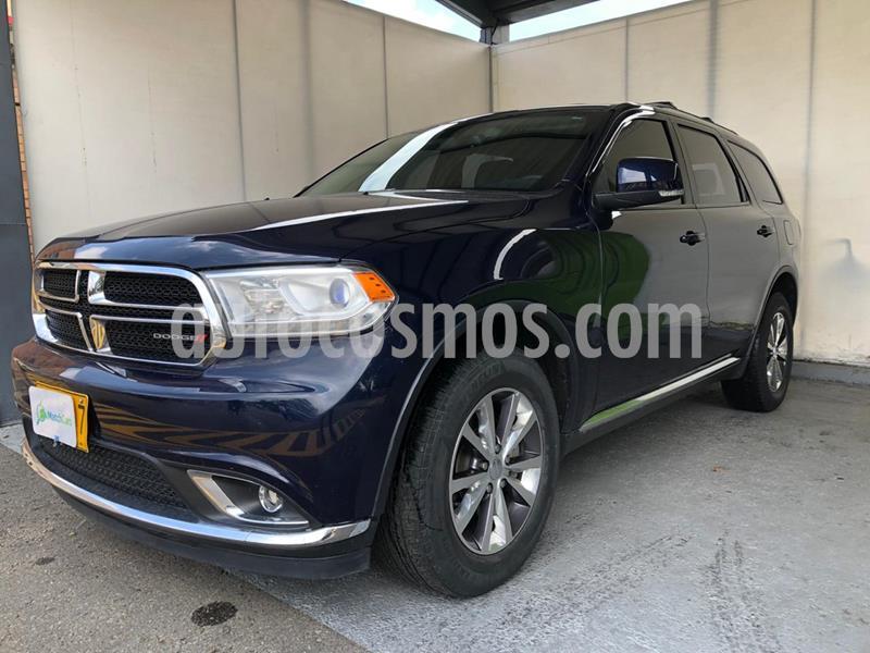 Dodge Durango 3.6L Limited usado (2016) color Acero Oscuro precio $89.990.000