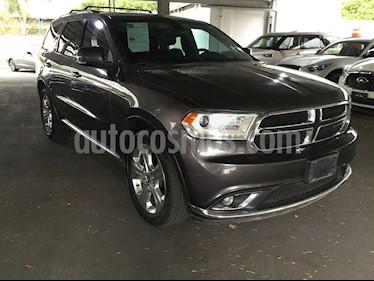Foto venta Auto usado Dodge Durango DURANGO 3.6 LIMITED V6 5P 7 Plazas (2015) color Gris precio $350,000