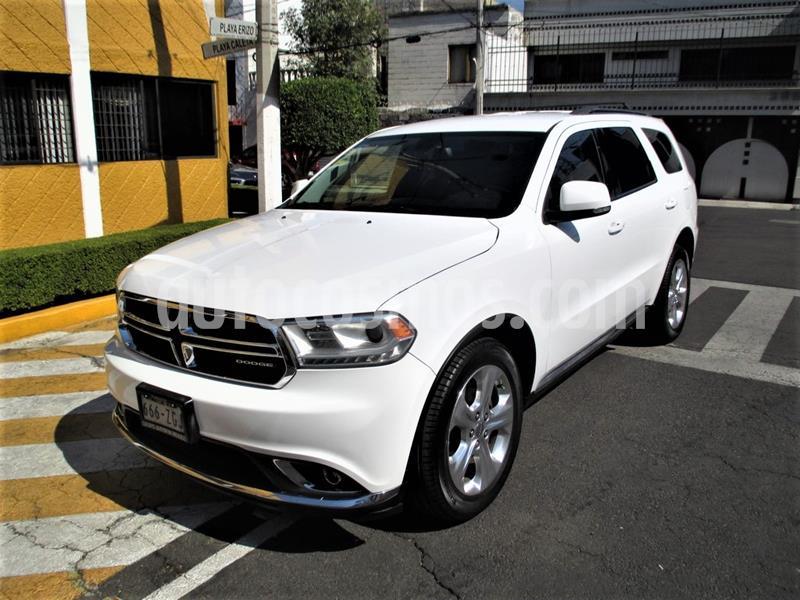 Dodge Durango 3.6L V6 Limited usado (2014) color Blanco precio $279,900